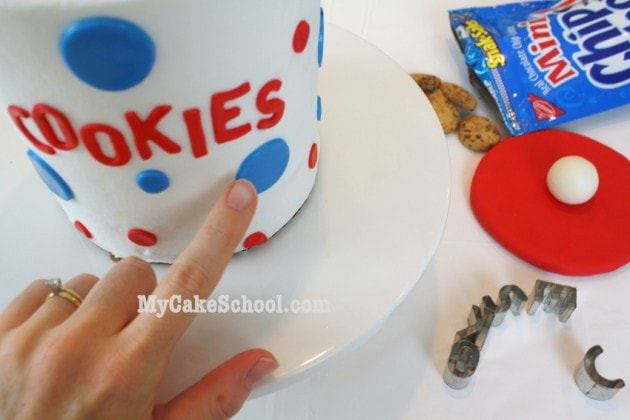 Cookie Jar Cake TUTORIAL with Cookie Monster Cupcakes! MyCakeSchool.com