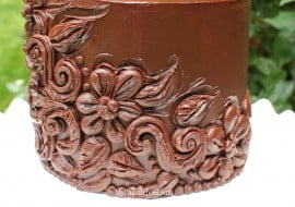 Beautiful Carved Ganache Effect - Cake video tutorial by MyCakeSchool.com.