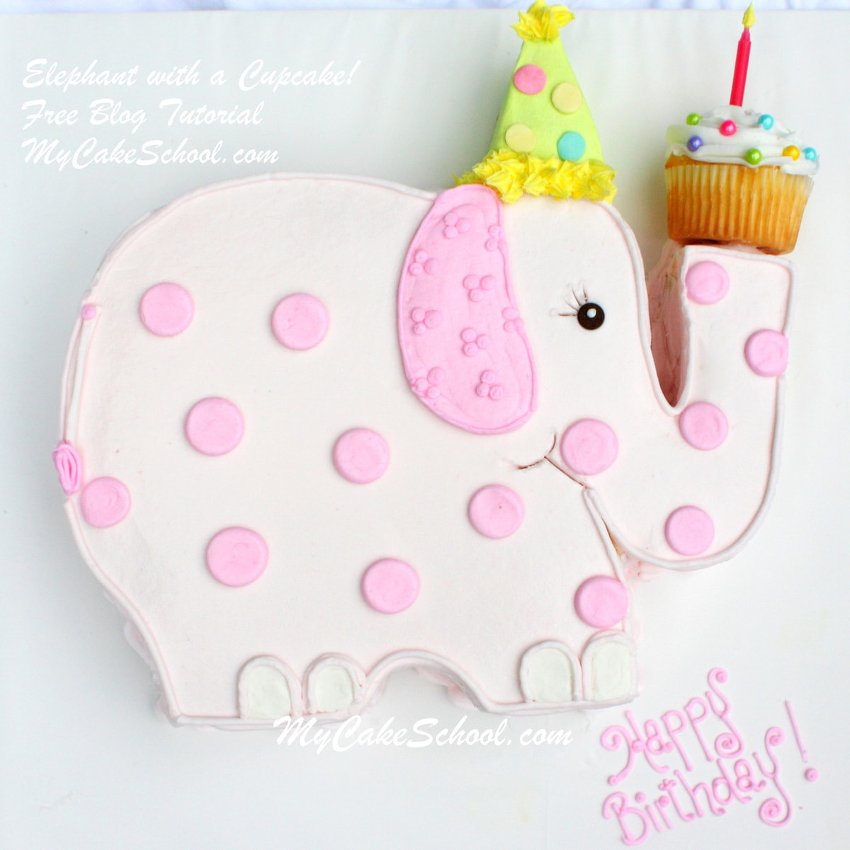 Thanks For Stopping By And If You Make A Sweet Elephant Cake Of Your