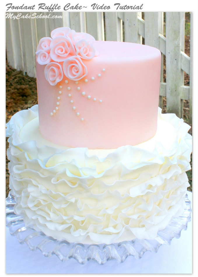 How To Use Cake Stencils On Fondant