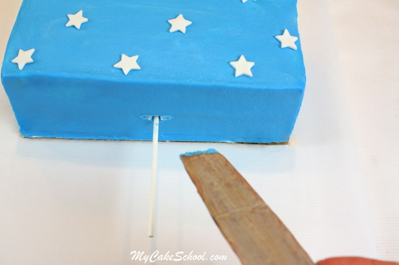 Awesome Popsicle Cake Tutorial by MyCakeSchool.com! This is such a quick and easy design- perfect for summertime! MyCakeSchool.com Online Cake Classes & Recipes!