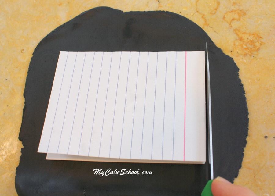 Back to School Tutorial by MyCakeSchool.com