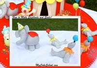 Elephants and Seals video from our Circus Cake!  MyCakeSchool.com