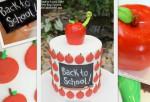 Back to School Cake Tutorial- MyCakeSchool.com