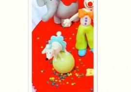 Circus Poodle Tutorial- MyCakeSchool.com