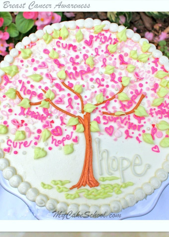 """Tree of Hope"" tutorial by MyCakeSchool.com"