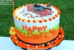 Happy Halloweenie! Video tutorial by MyCakeSchool.com
