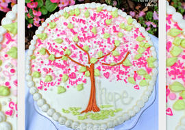 """Tree of Hope"" Cake Decorating Tutorial by MyCakeSchool.com"
