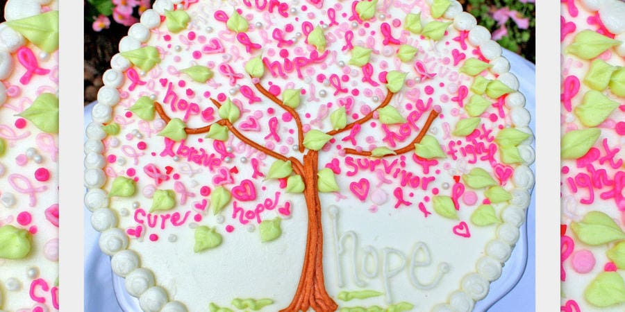 Tree of Hope for Breast Cancer Awareness~ Blog Tutorial