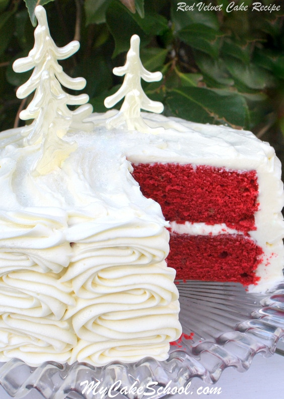Classic Red Velvet Cake From Scratch My Cake School