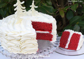 Delicious Red Velvet Cake Recipe by MyCakeschool.com!