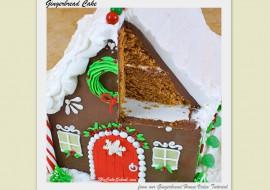 Gingerbread Cake~A Doctored Cake Mix Recipe- by MyCakeSchool.com