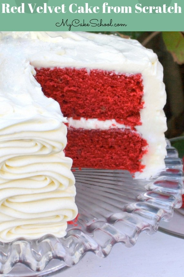 Red Velvet Cake Recipe from Scratch- Super moist and delicious!