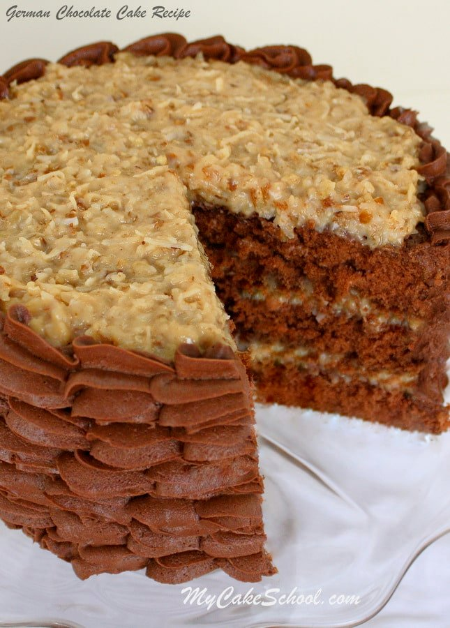 German Chocolate Cake Recipe From Scratch Food Network