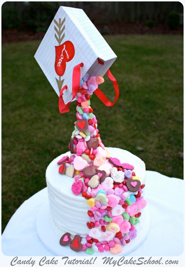 Candy Cake A Gravity Defying Cake Video Tutorial My