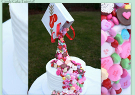 Candy Cake Video Tutorial for Members by MyCakeSchool.com!
