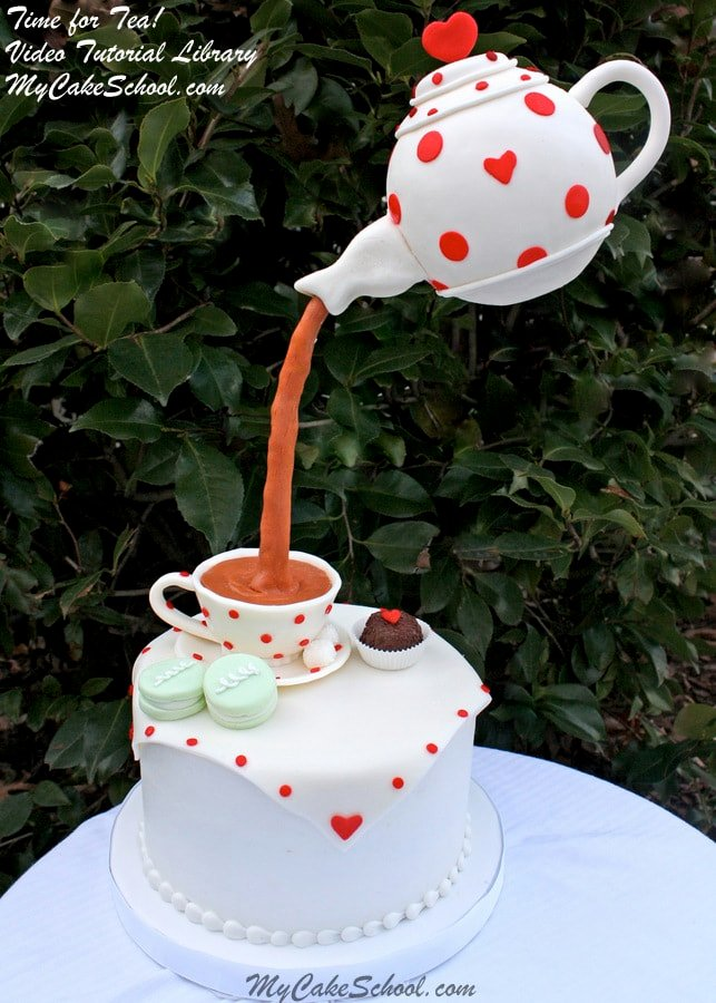 Time For Tea Part One Teacup Amp Teapot My Cake School