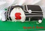 Golf Bag Cake Video Tutorial~MyCakeSchool.com Member Video Library