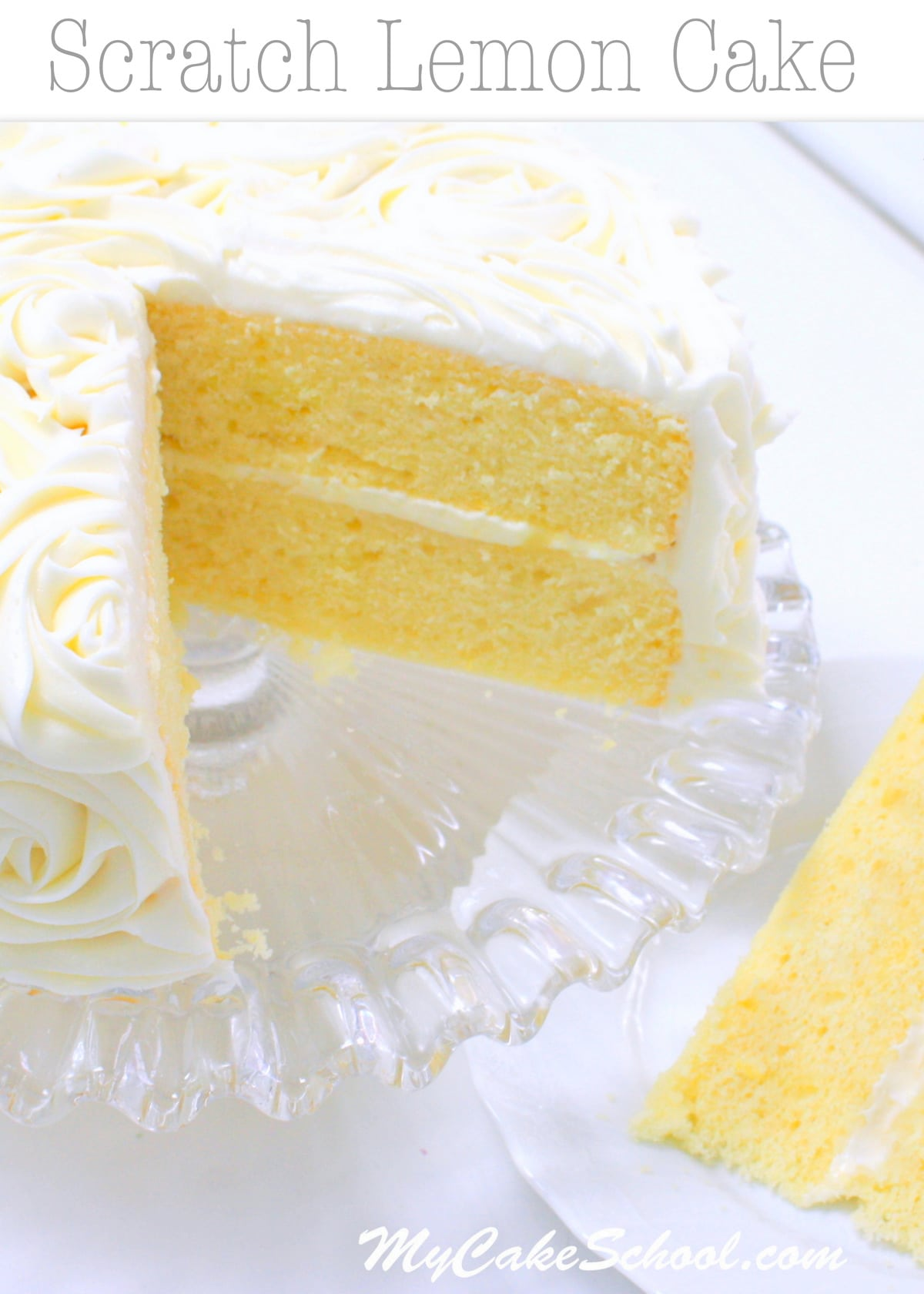 Lemon Almond Semolina Cake Recipe