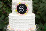 Beautiful Textured Buttercream with Fondant Plaque- Member Video- MyCakeSchool.com