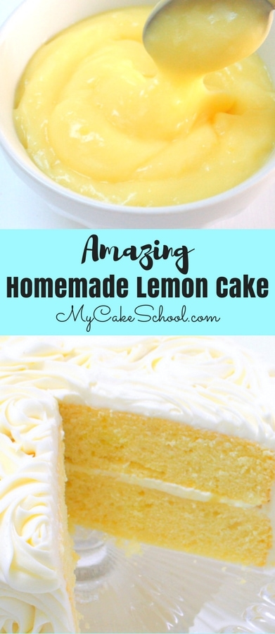 Moist and Delicious Lemon Cake Recipe from Scratch by MyCakeSchool.com! This homemade lemon cake is always a crowd pleaser!