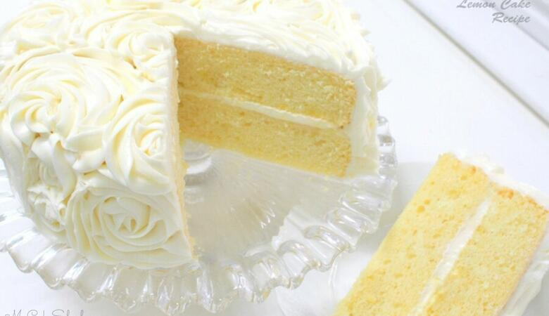 Lemon Cake {A Scratch Recipe}