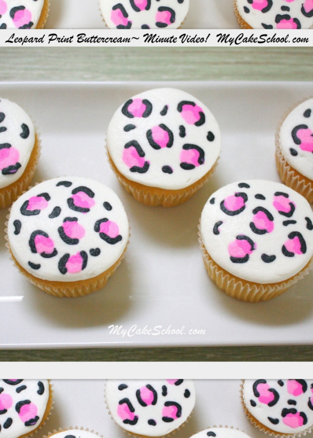 cupcakes pinterest leopards - photo #15