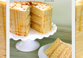 Caramel Cake Recipe {Scratch} by MyCakeSchool.com!