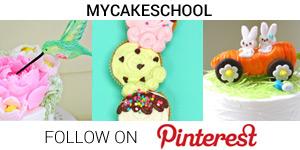 My Cake School on Pinterest