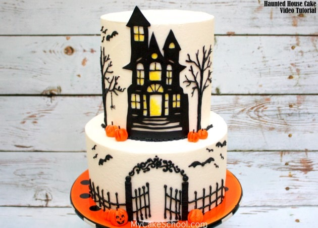 Haunted House Cake! – A Cake Decorating Video Tutorial