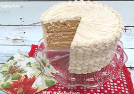 Delicious Eggnog Cake Recipe by MyCakeSchool.com
