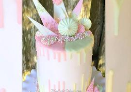 Pastel Drip Cake! Tutorial by MyCakeSchool.com