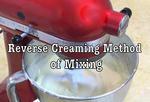 Reverse Creaming Method of Mixing- (free) Cake Video Tutorial