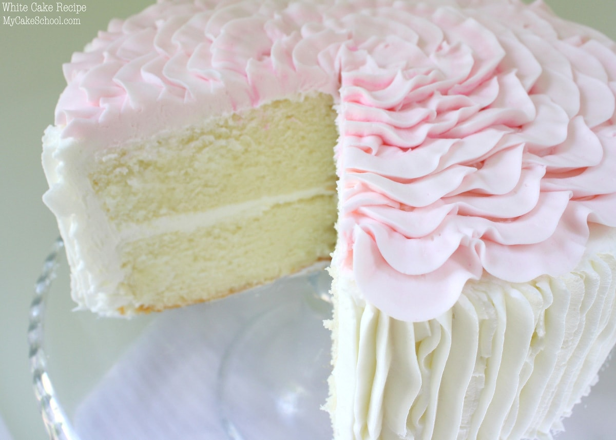 White Coconut Cake Recipe From Scratch
