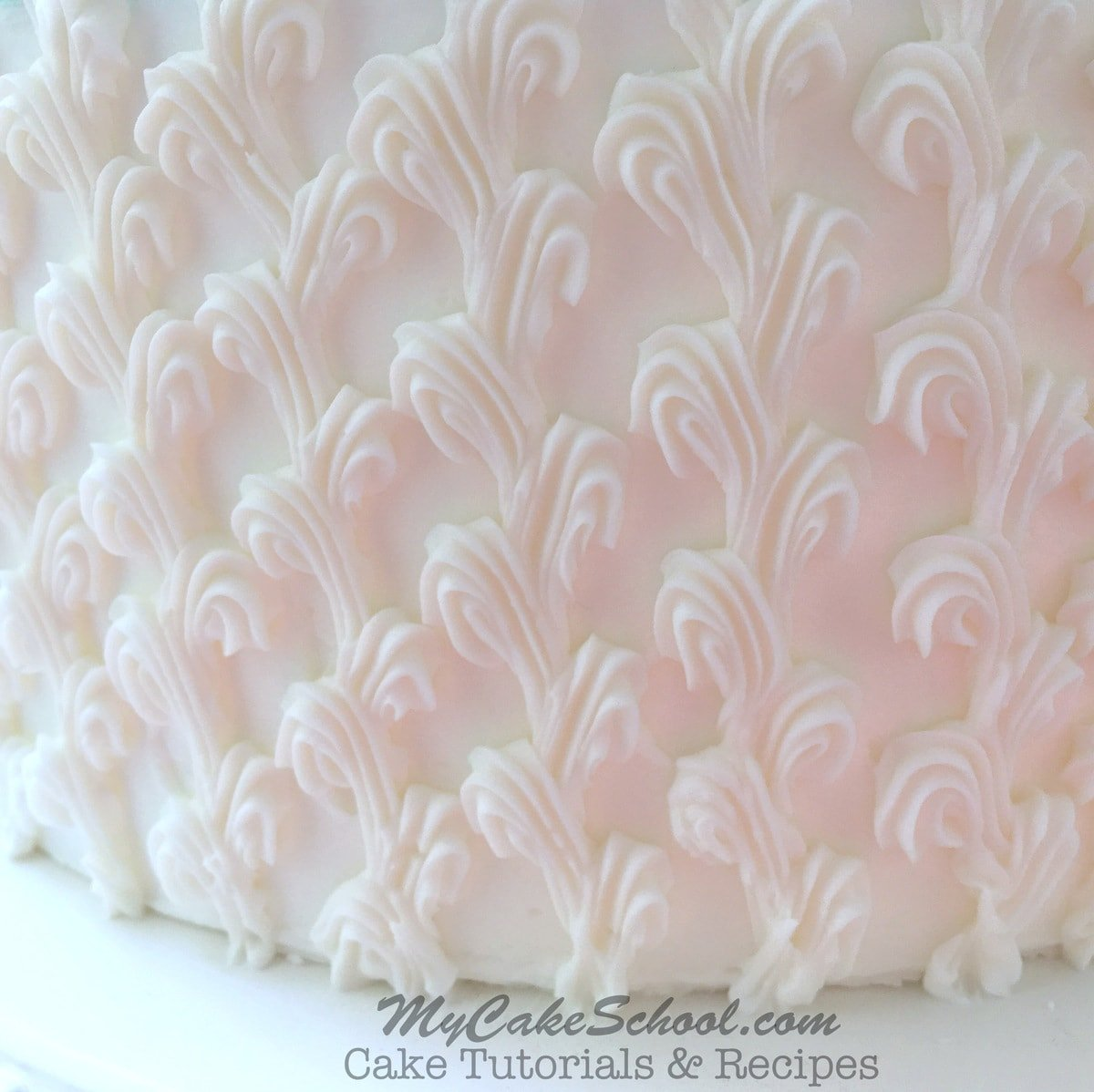 Wedding Gown Cakes: Wedding Dress In Buttercream- A Free Cake Decorating