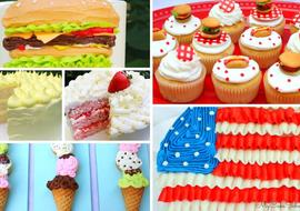 Favorite Cookout Cake Designs and Recipes