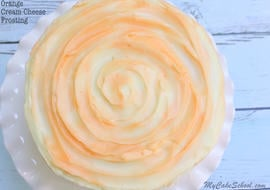 Amazing Orange Cream Cheese Frosting! Recipe by MyCakeSchool.com- Online Cake Decorating Classes & Recipes!