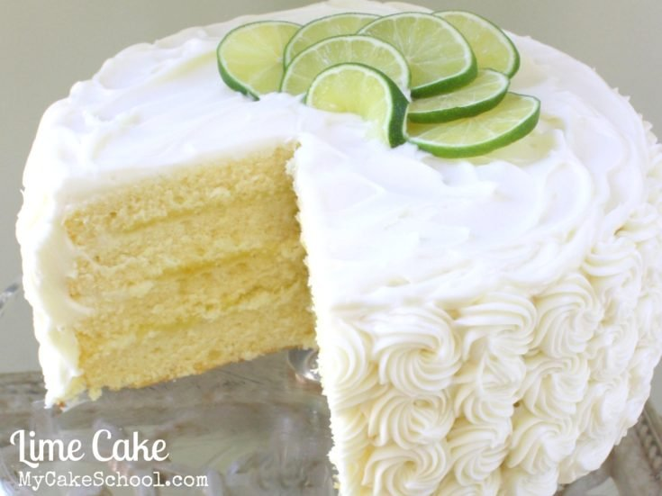 Lime Cake from Scratch