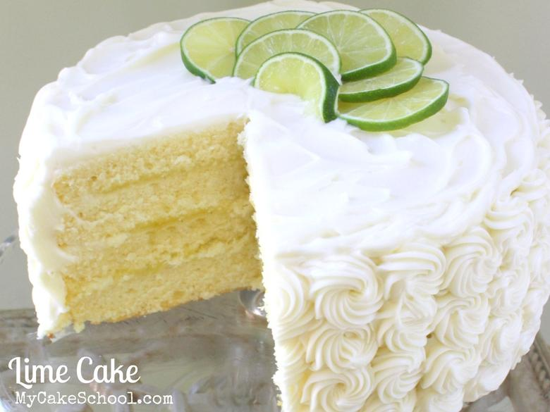 This Lime Cake From Scratch Recipe is the BEST! Wonderful flavor and so moist! Perfect for summertime gatherings!