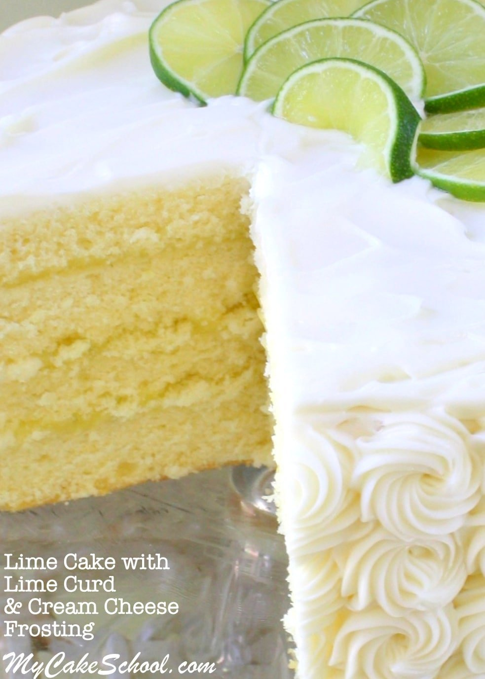 Coconut Cake With Lime Curd Filling