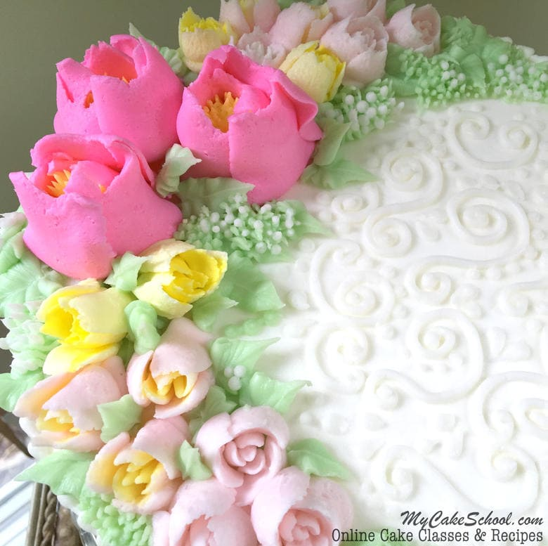 Cake Decorating Piping Flowers : How to use Russian Piping Tips- A Cake Tutorial My Cake ...