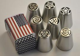 Russian Piping Tip Set- My Cake School Store