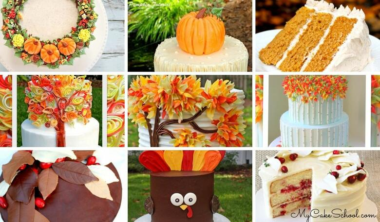 50+ Fall Cake Designs and Recipes