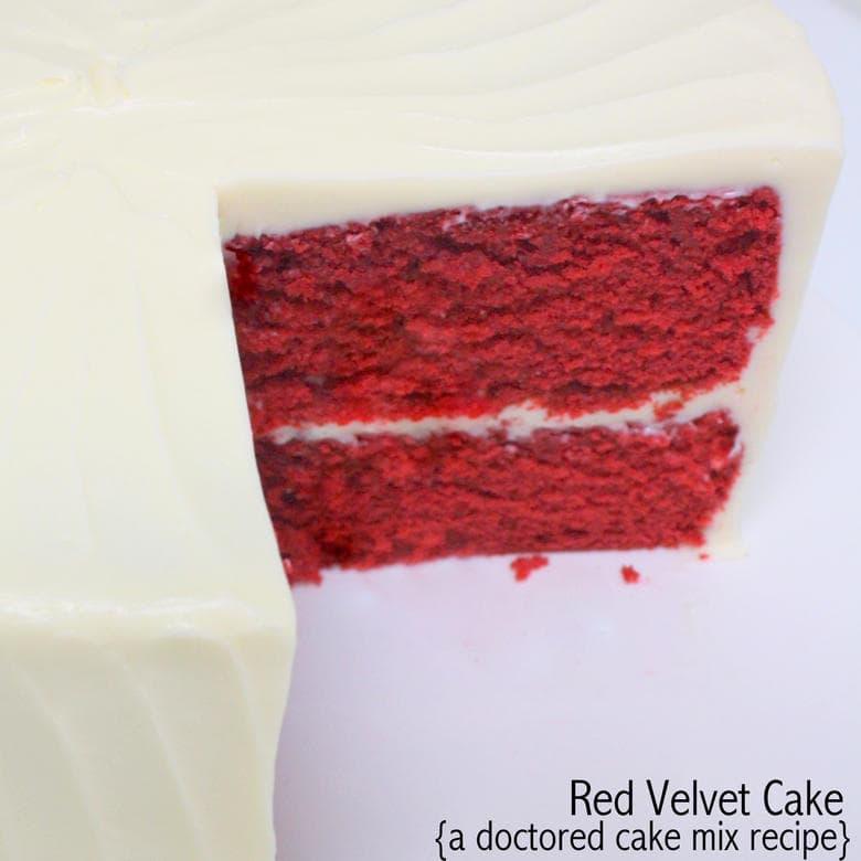 Red Velvet Cake Mix Recipe Doctored