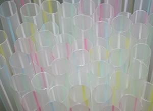 Bubble tea straws are great for use as supports in tiered cakes!