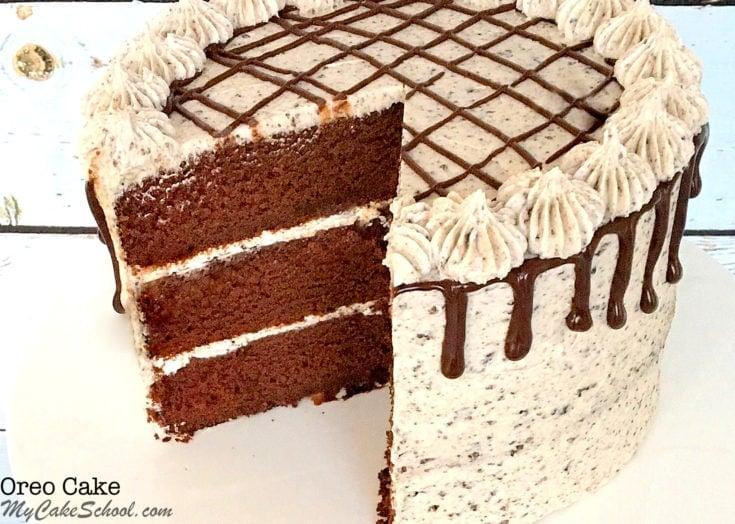 Oreo Cake- Delicious Scratch Cake Recipe