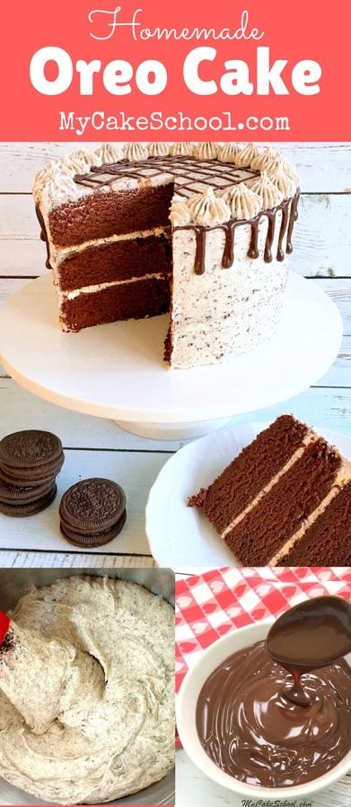 Fabulous scratch Oreo Cake Recipe by MyCakeSchool.com