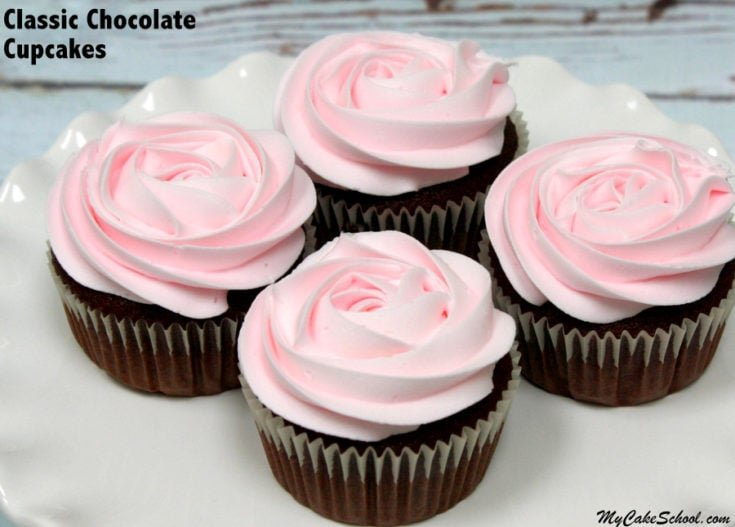 Classic Chocolate Cupcakes From Scratch My Cake School