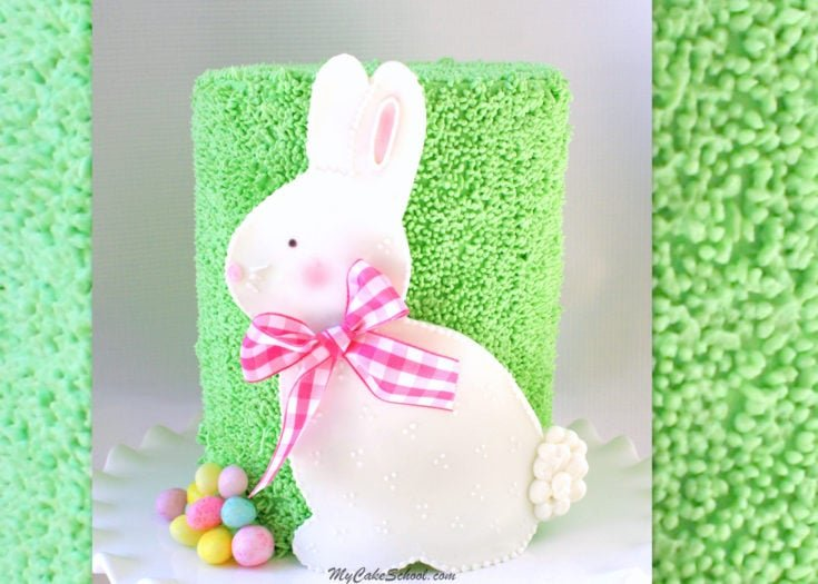 Cute Bunny Cake-Video Tutorial