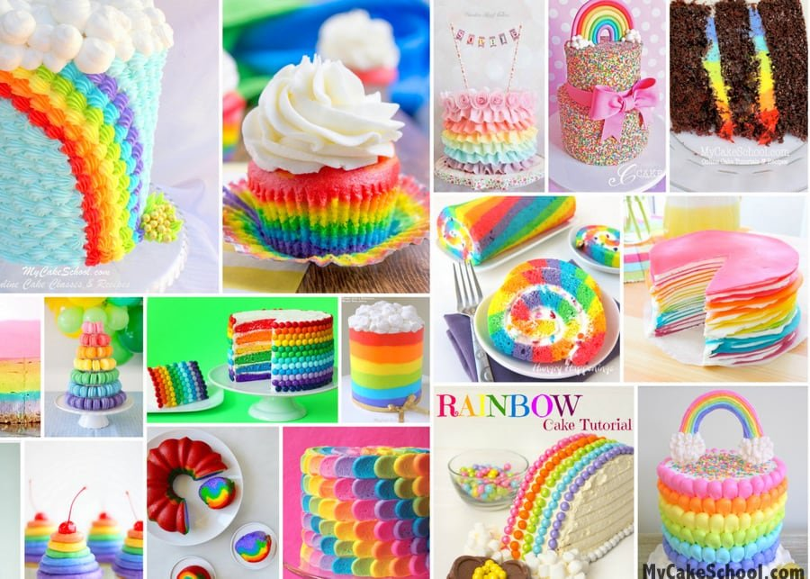 Best Icing For Rainbow Cake